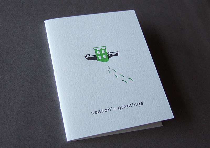 Buckminster Green Christmas Card
