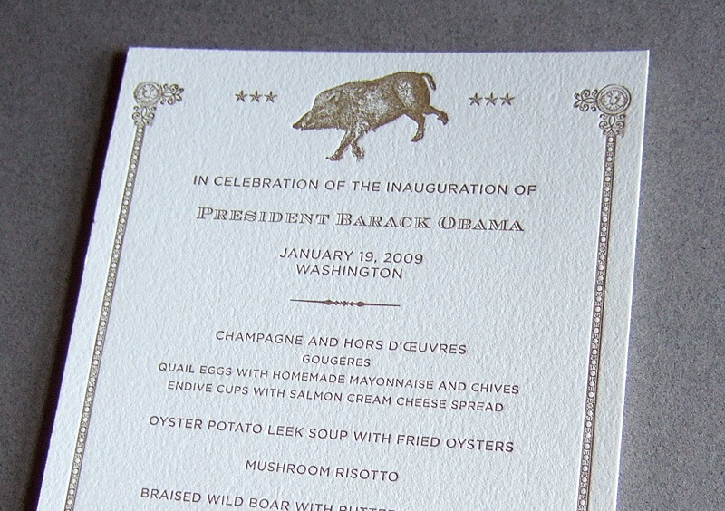Obama Inauguration Party Invitation