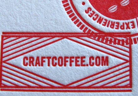 Craft Coffee Note Card