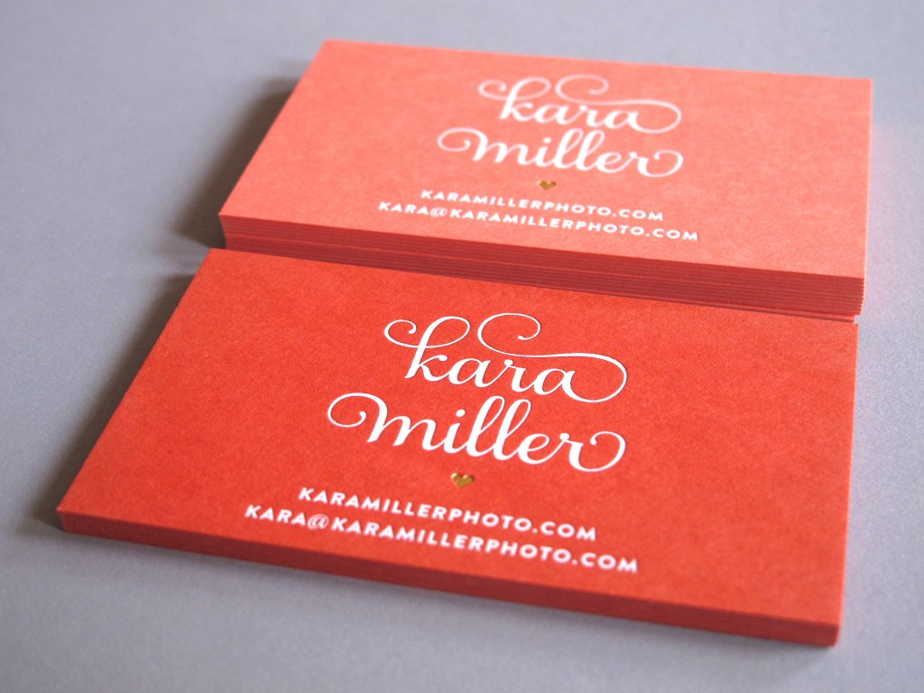 Kara Miller Buisness Card