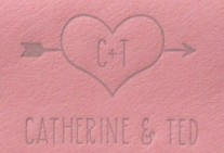 Catherine + Ted Wedding Inviations
