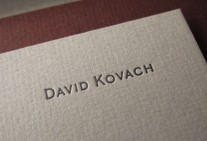David Kovach Business Stationary