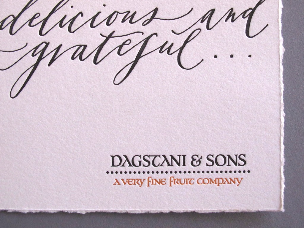 Dagstani & Sons Labels and Thank You Cards