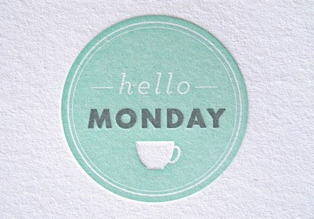 Hello Monday Buisness Stationery