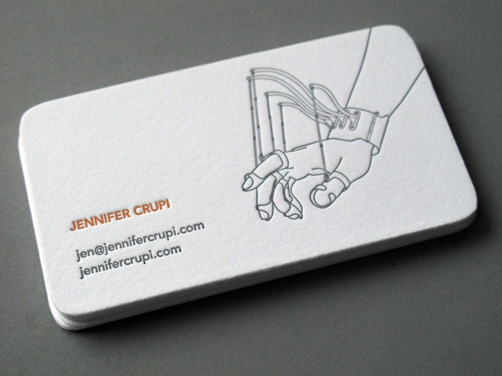 Jennifer Crupi Buisness Card