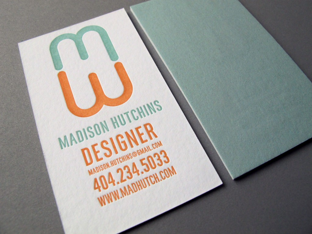 Madison Hutchins Buisness Card