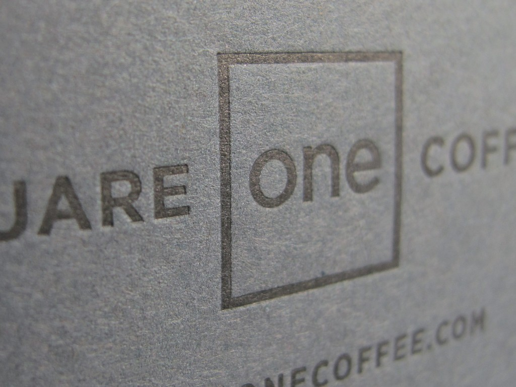 Square One Coffee Box
