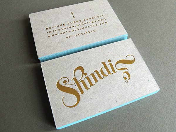 Shindig grey chipboard business card thomas printers chipboard business card reheart Images