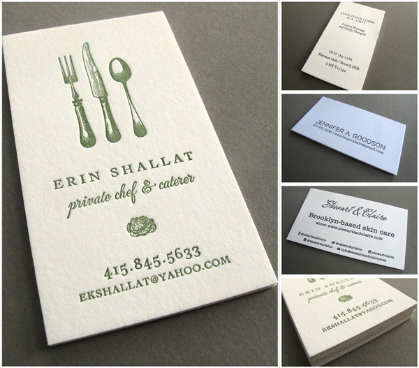 Business card roundup