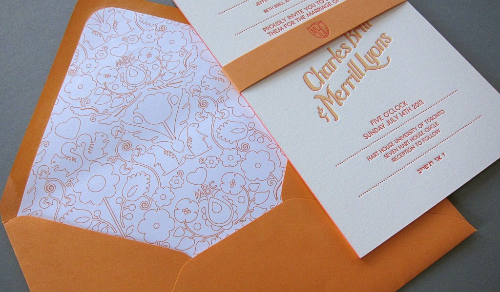 digitally printed envelope liner