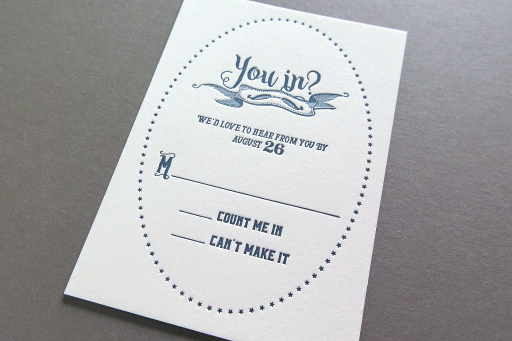 Navy ink cotton paper